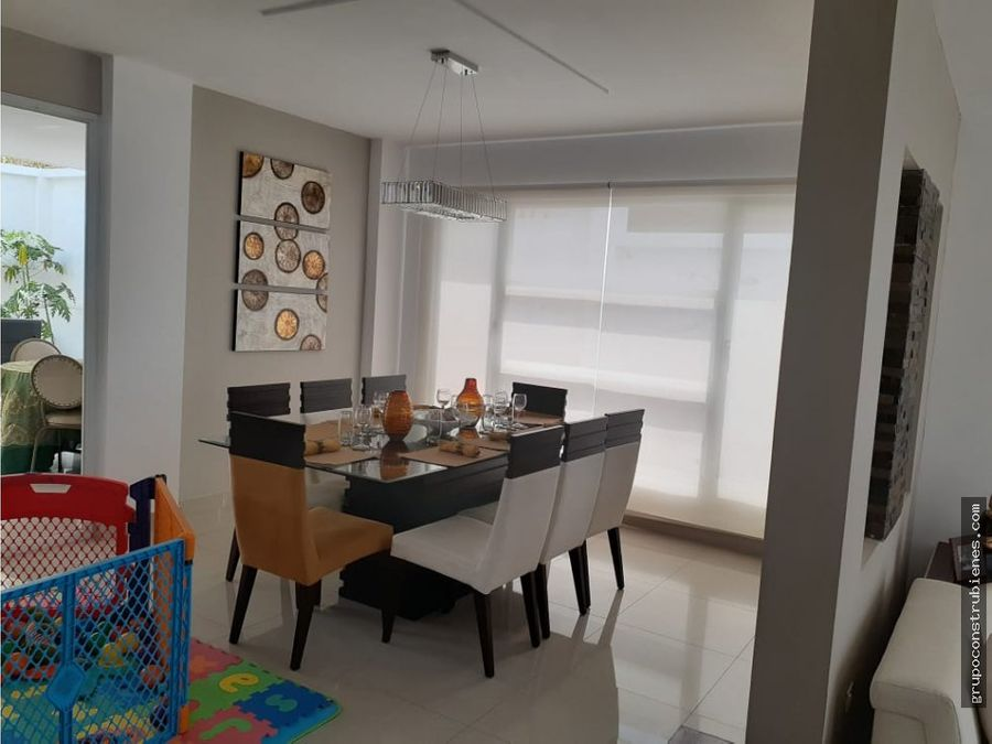casa full amoblada en urbanizacion manta beach
