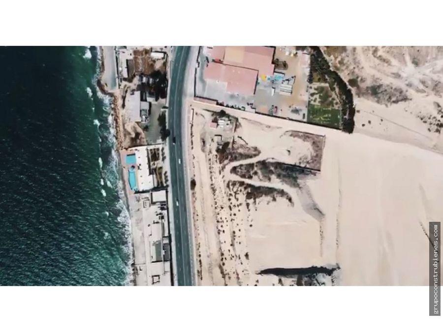 terrenos en urbanizacion frente al mar en manta