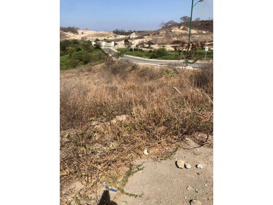lote para construir 3 casas en montecristi golf manta montecristi