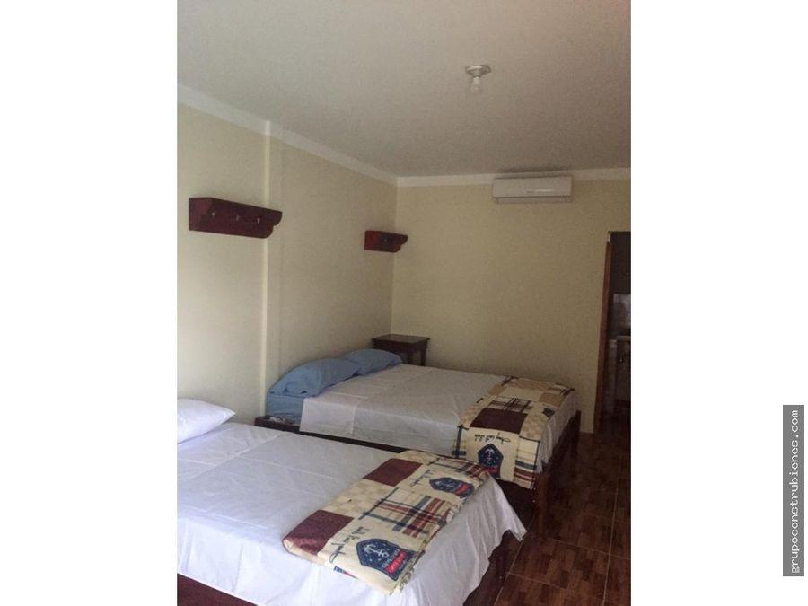 hotel en zona costera canoa manabi
