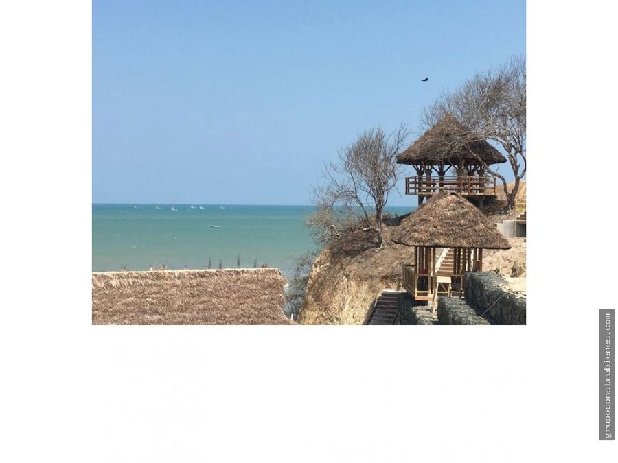 lote vista al mar urbanizacion en jama manabi