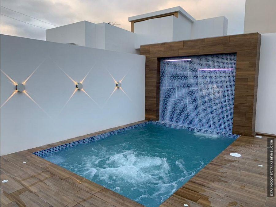 altos manta beach moderna piscina