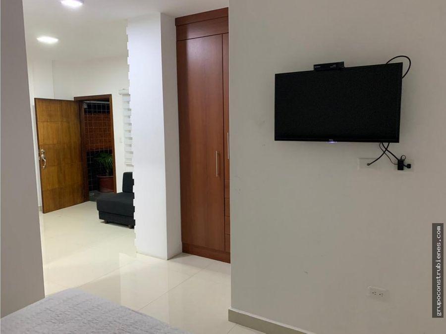 suite amoblada en urbanizacion privada manta 2000