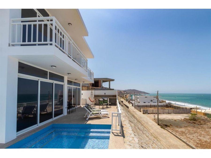 casa a estrenar con vista al mar en santa marianita urb bonita beach