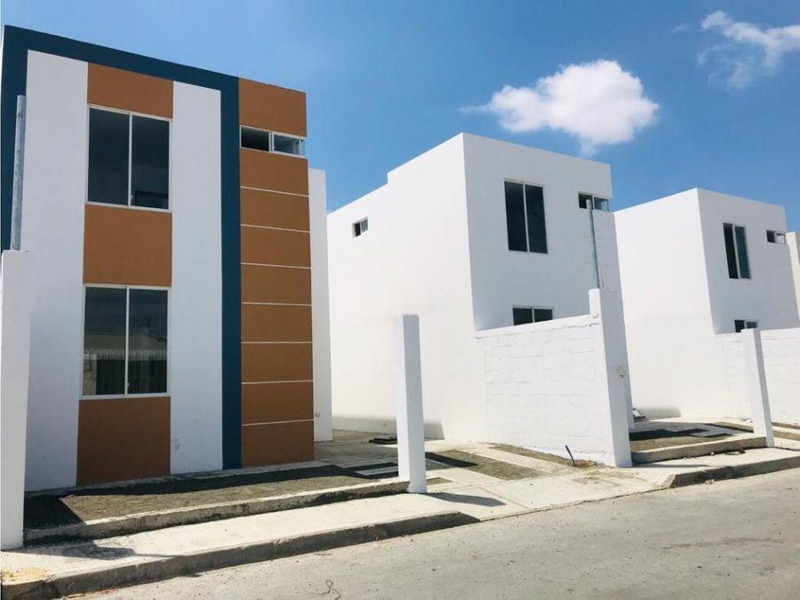 casas a estrenar en urbanizacion renacer manta