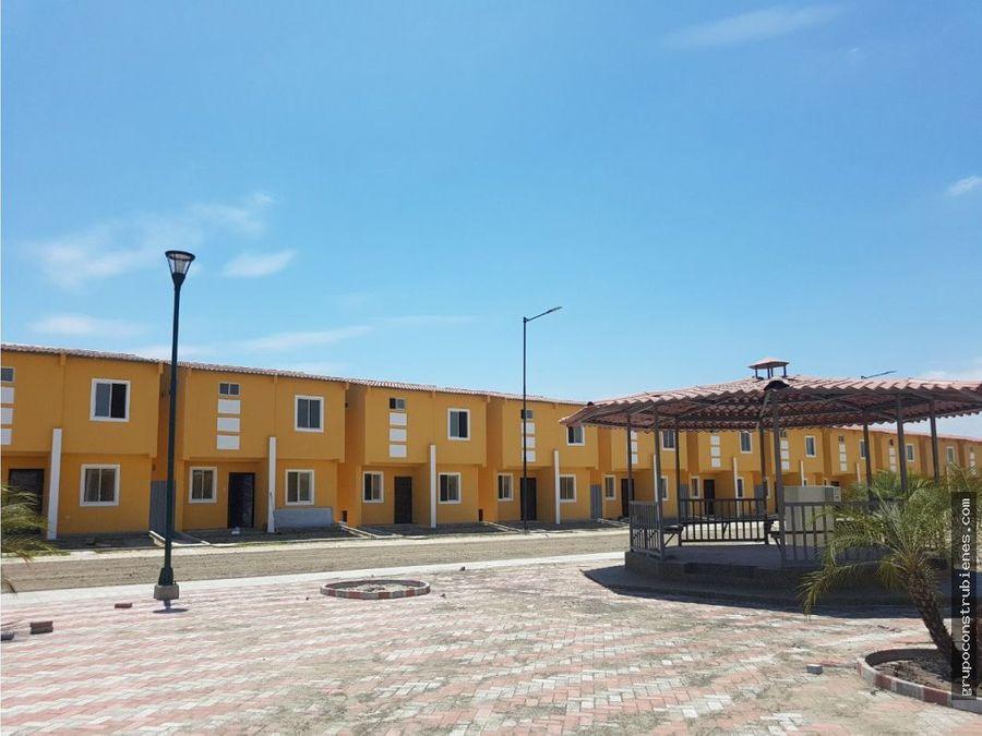 casas nuevas en urbanizacion metropolis manta
