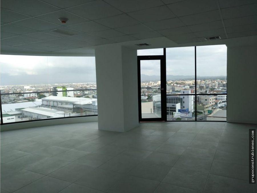 oficina vista al mar en manta business center