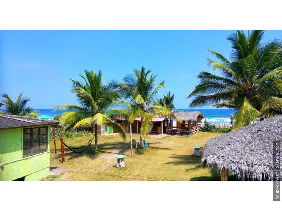 hotel frente al mar en montanita ecuador