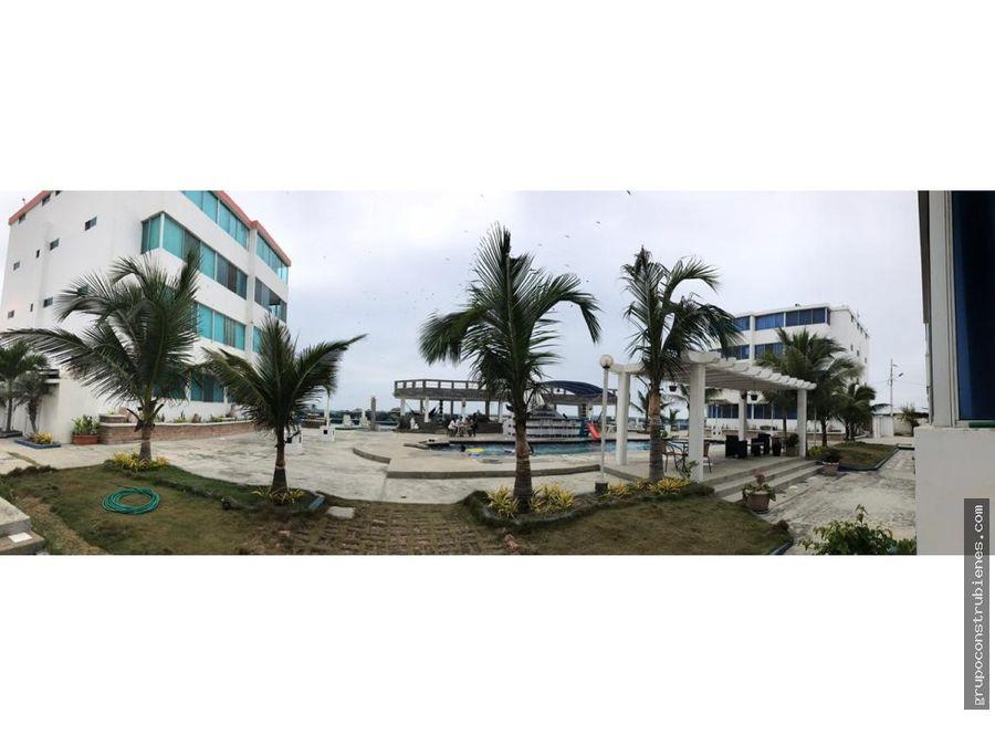 departamento amoblado frente al mar crucita manabi