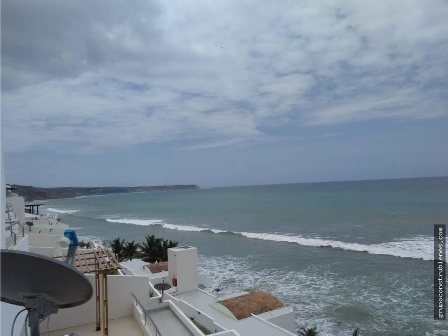 departamento vista al mar en ciudad del mar manta