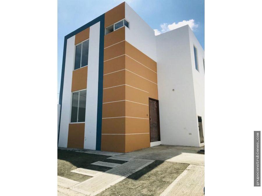 casa en urbanizacion renacer manta