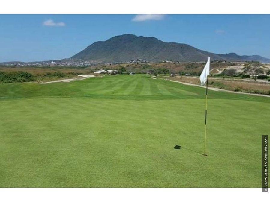 lote en montecristi golf cerca del hoyo 9
