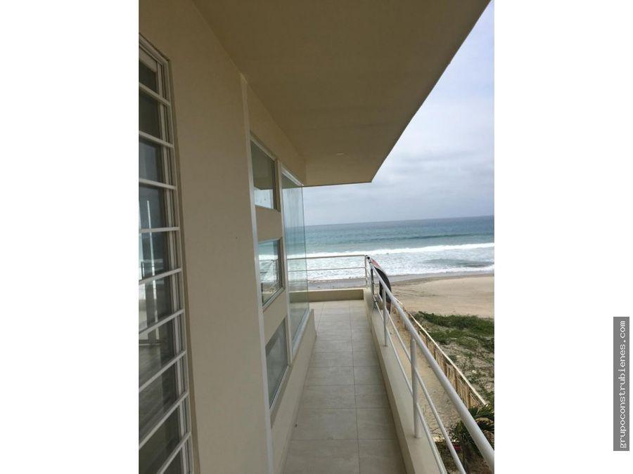 casa frente al mar playa santa marianita