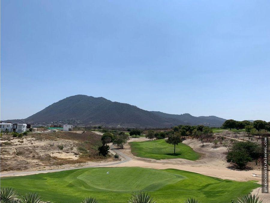 espectacular lote en montecristi golf ecuador