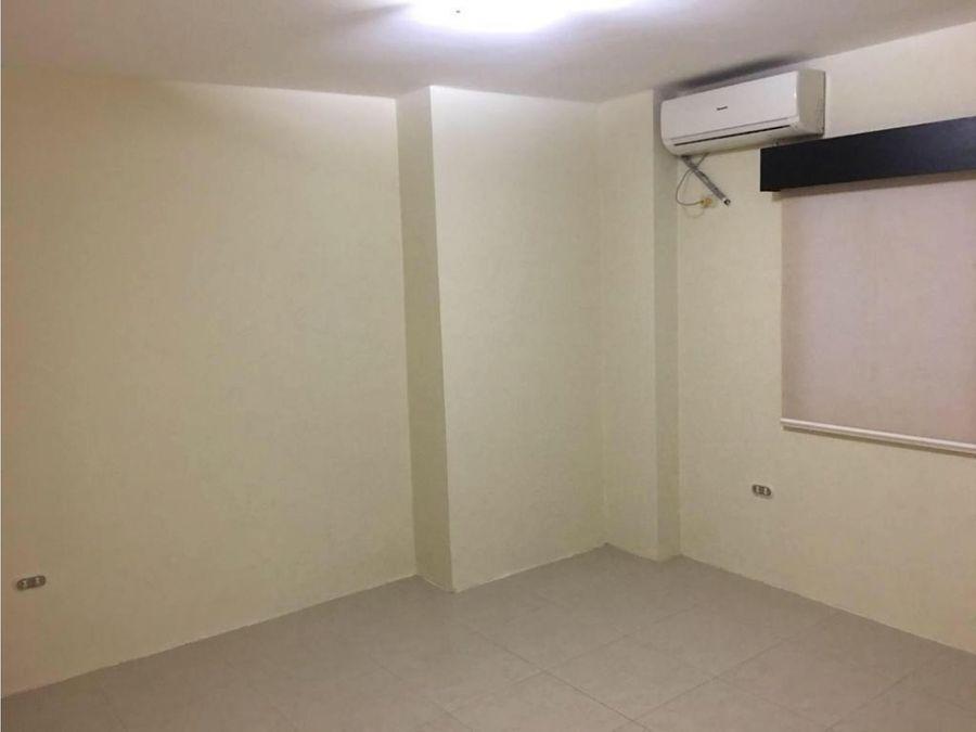 departamento sin muebles planta baja en barbasquillo