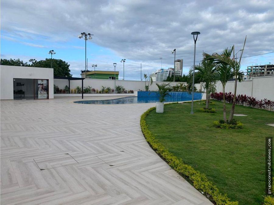 casa a estrenar en urbanizacion manta tennis