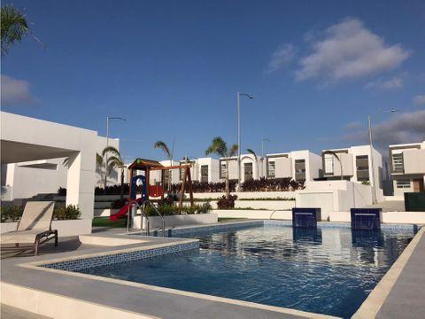 casas a estrenar en urbanizacion baru caribe manta