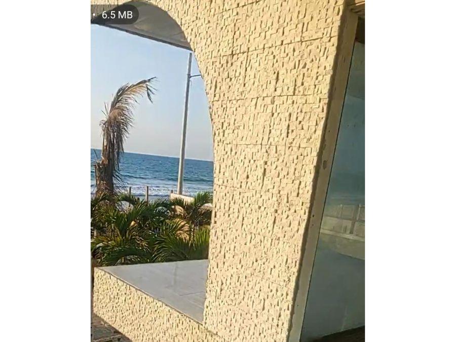 casa amoblada frente al mar en san clemente