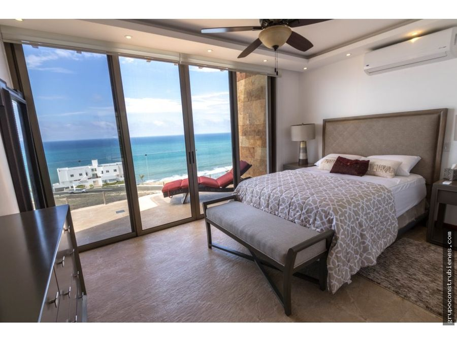 casa amoblada con vista al mar en ciudad del mar