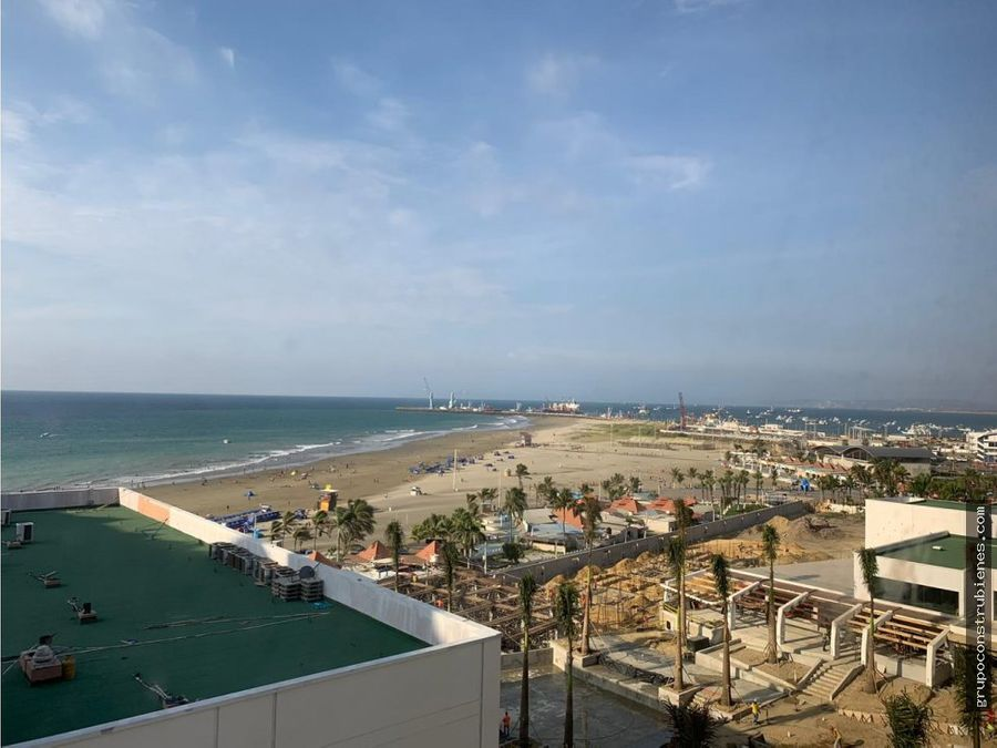 hermoso departamento vista al mar en manta