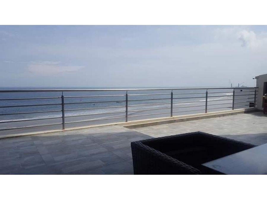 suite amoblada en edificio frente al mar cerca al hotel oro verde