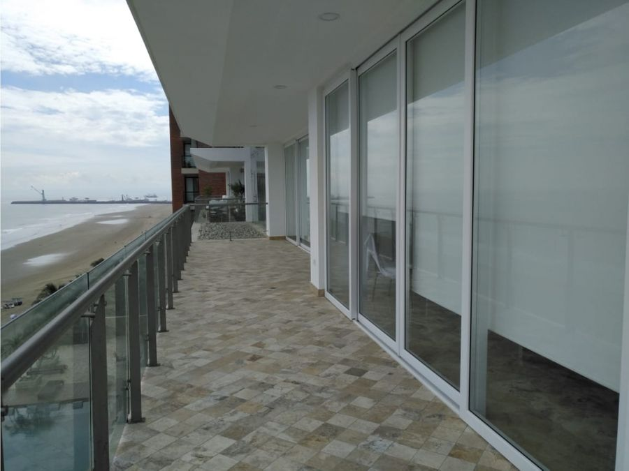 departamento amoblado frente al mar edificio oceania