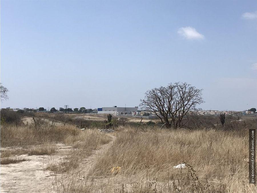 lote para proyecto habitacional sur de manta