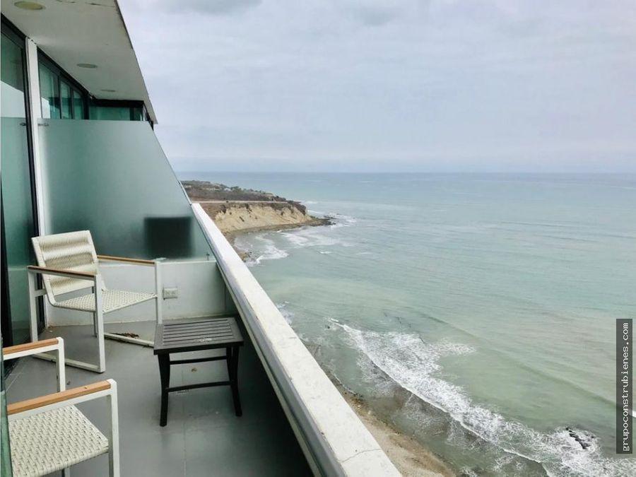 penthouse frente al mar en poseidon manta