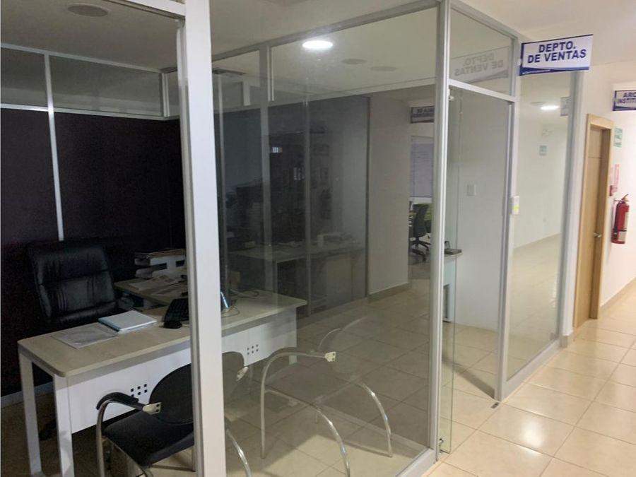edificio amoblado con oficinas cerca a hospital iess manta