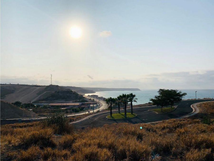 lote vista al mar en urb ciudad del mar manta