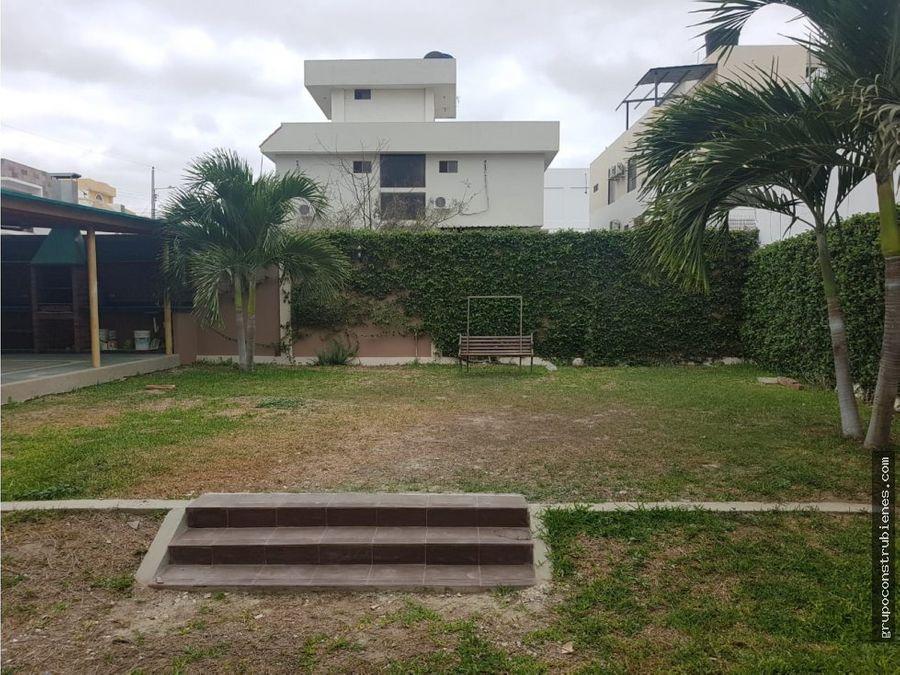 casa en urbanizacion manta beach al sur de manta