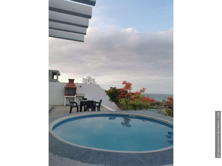 suite amoblada vista al mar ciudad del mar manta