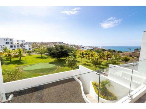 casa nueva vista al mar urb ciudad del mar manta