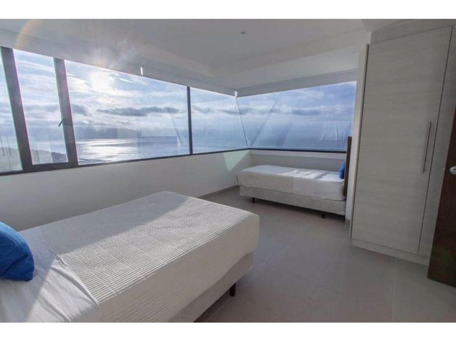 penthouse frente al mar en poseidon full amoblado