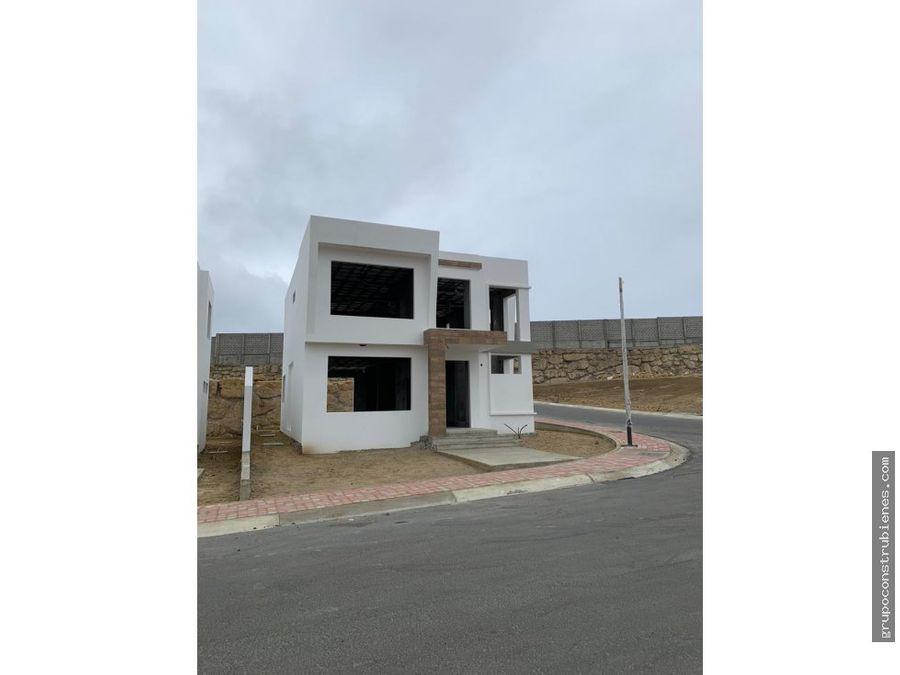 casa a estrenar cerca de ciudad del mar manta