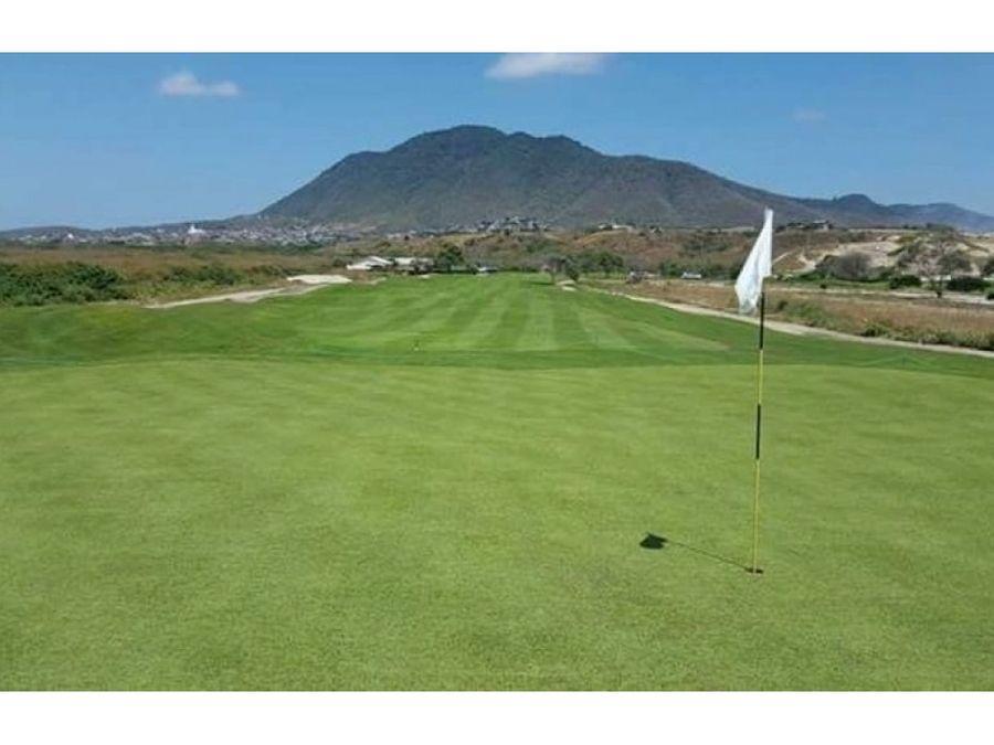 lote para construir en montecristi golf manta montecristi