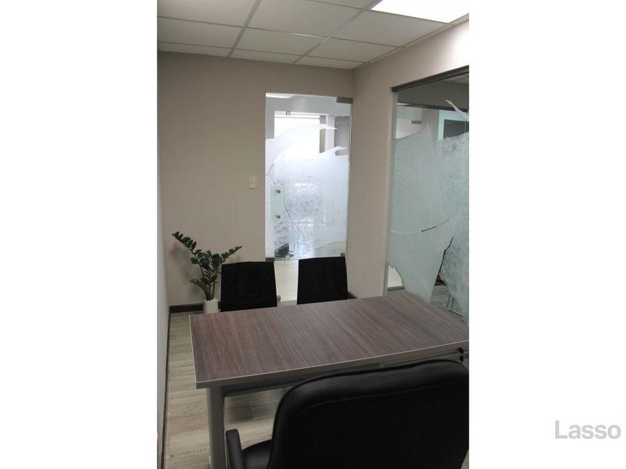 oficina en zona 10 edificio torino con 3 parqueos