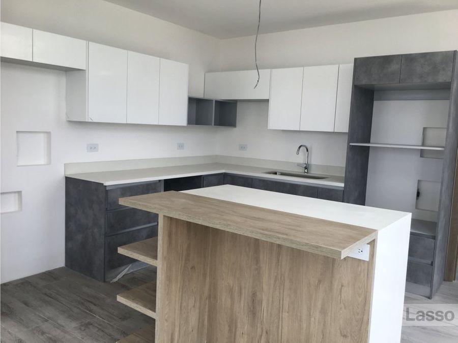 apartamento nuevo frente a cayala 2 hab en renta