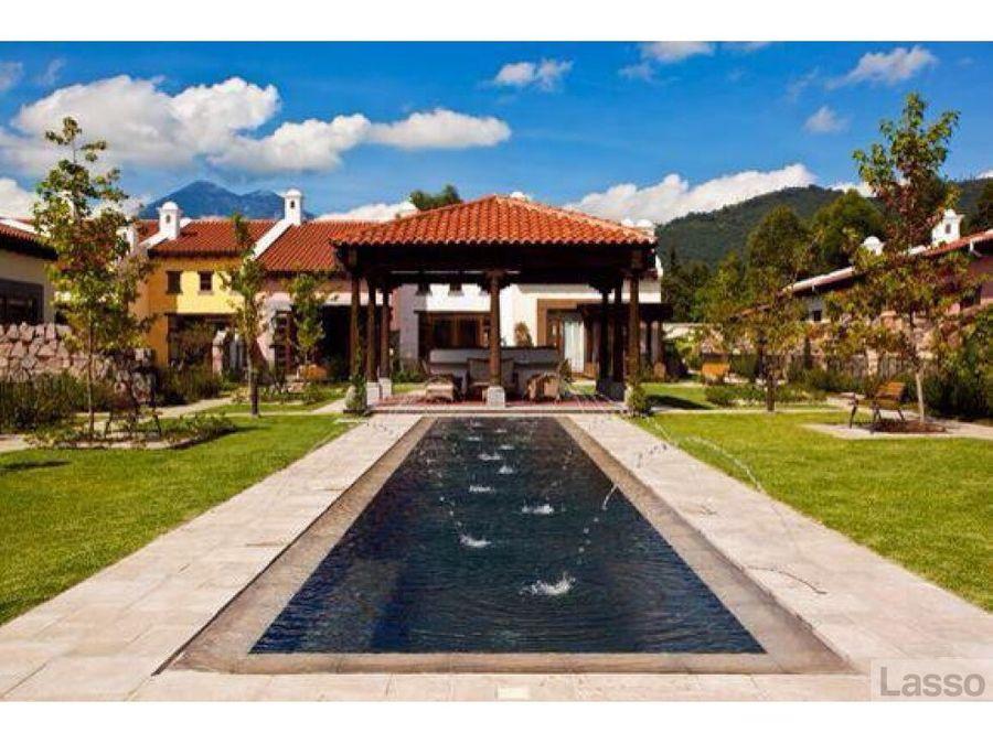 casa antigua guatemala en venta el monasterio