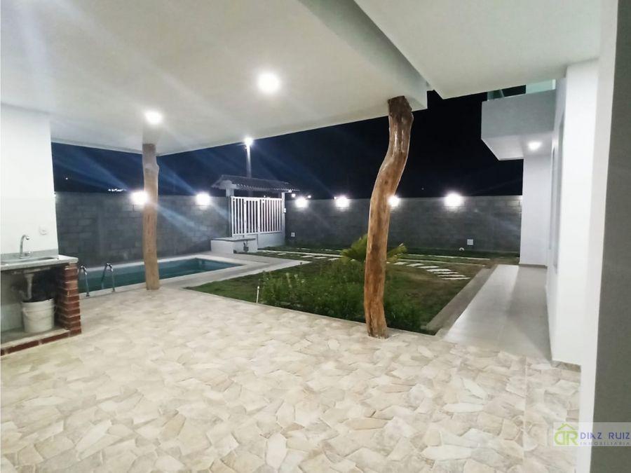 cartagena casa de playa en venta via barranquilla