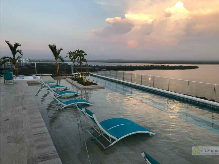 cartagena apartamento en venta cielo mar