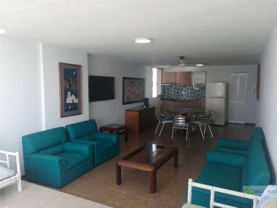 cartagena apartamento amoblado arriendo laguito