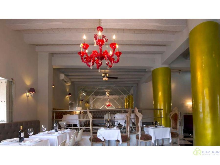cartagena hotel en venta centro historico