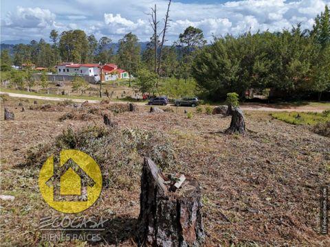 venta de terreno en pinares del valle