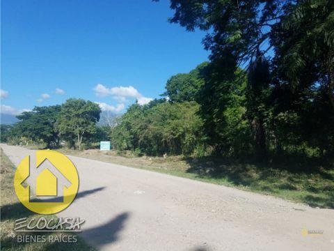 venta de terreno en comayagua