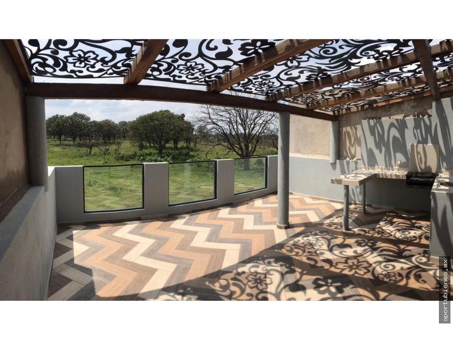 casa 67 con roof garden en vitana residencial