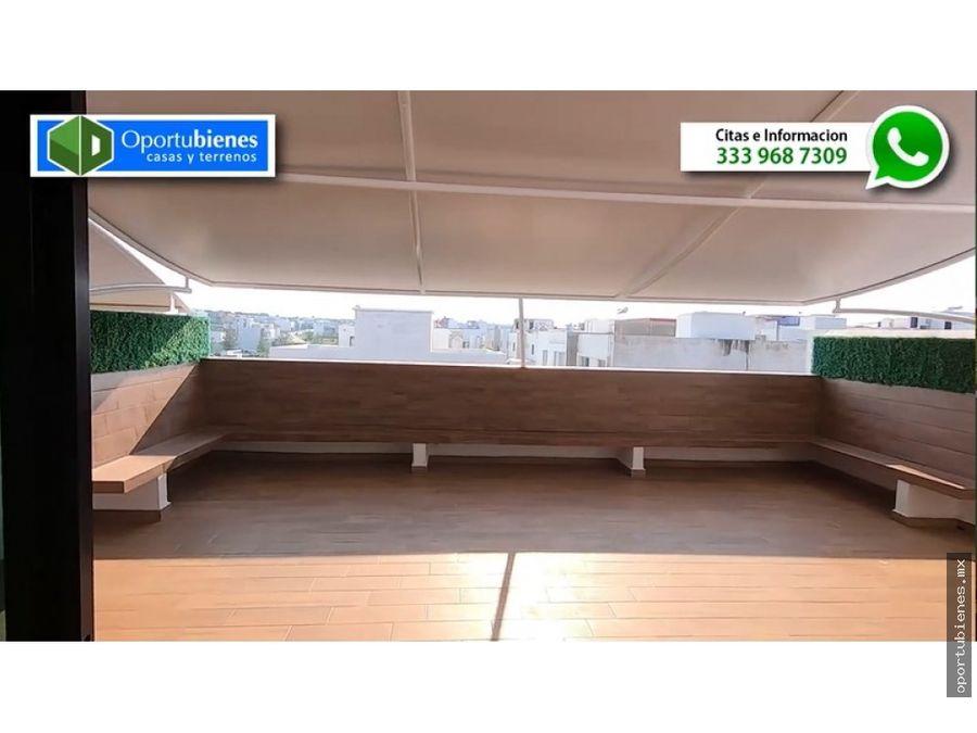 casa 52 con roof garden en valle imperial