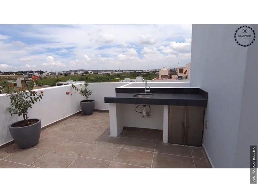 casa 64 con roof garden en valle imperial