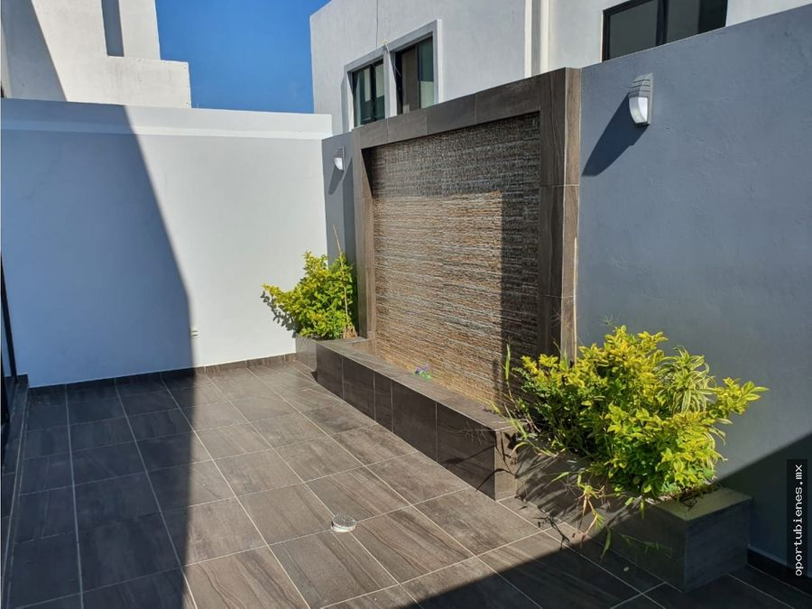 casa 130 con roof garden en coto sivec en capital norte