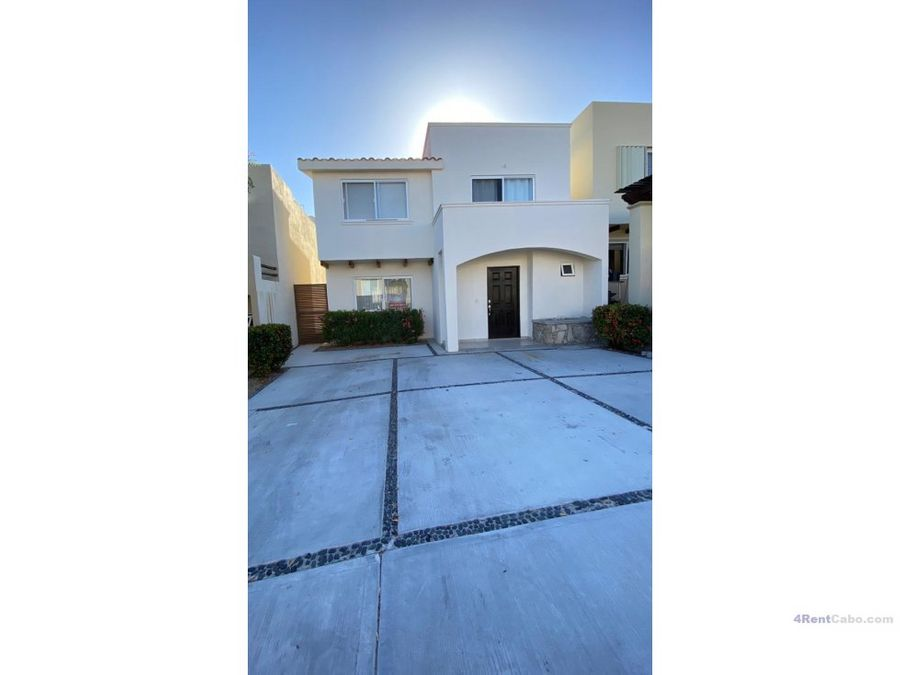 for rent great home at sjd corridor 1300 usd